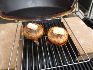 Sept 23 grilling onion halves 1