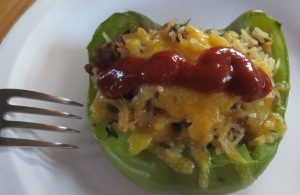 May 7 Thai Pork Stuffed Peppers